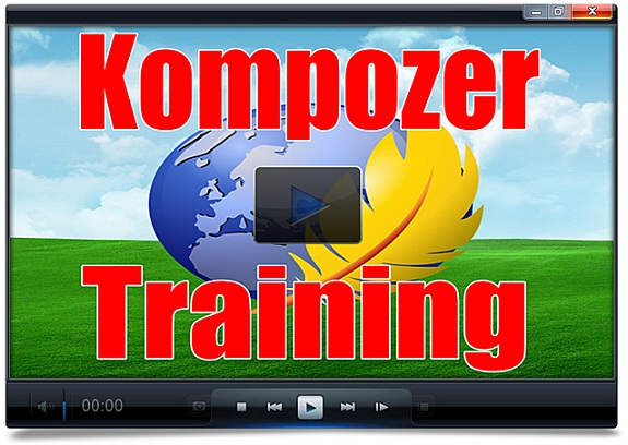 Kompozer Video Training