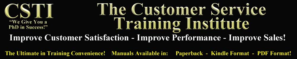 The Customer Service Training Institute